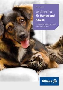 Versicherung für Hunde und Katzen