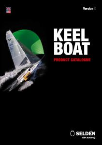 Version 1 KEEL BOAT PRODUCT CATALOGUE