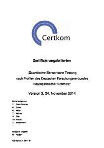 Version 3, 24. November 2014