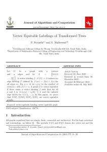 Vertex Equitable Labelings of Transformed Trees