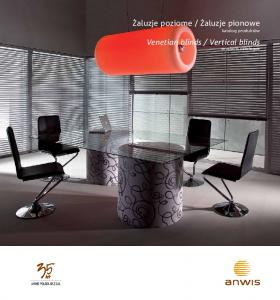Vertical blinds products catalogue