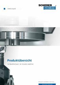 Vertikal und genial. Produktübersicht. Auf Bewährtes bauen - der Innovation verpflichtet. Designed and Made in Germany