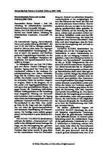 Verwandtschaft, Name und soziale Ordnung ( ) Verwandtschaft, Name und soziale Ordnung ( )