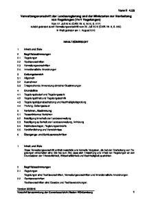 VerwR 4.08 Verwaltungsvorschrift der Landesregierung und der Ministerien zur Erarbeitung von Regelungen (VwV Regelungen)