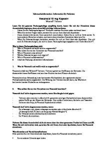 Vesanoid 10 mg Kapseln Wirkstoff: Tretinoin