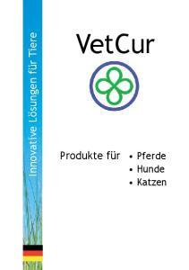 VetCur. Innovative Lösungen für Tiere. Produkte für Pferde. Hunde Katzen