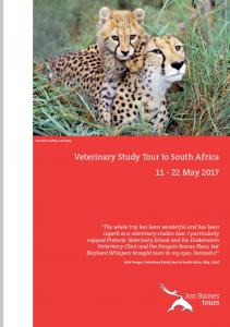 Veterinary Study Tour to South Africa May 2017