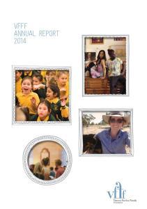 VFFF ANNUAL REPORT 2014