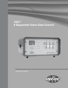 VGC TM I Sequential Valve Gate Control