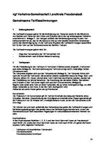 vgf Verkehrs-Gemeinschaft Landkreis Freudenstadt