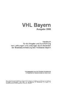 VHL Bayern Ausgabe 2008