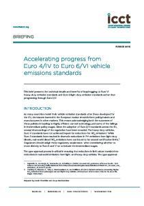 VI vehicle emissions standards