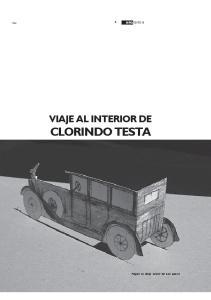 VIAJE AL INTERIOR DE CLORINDO TESTA