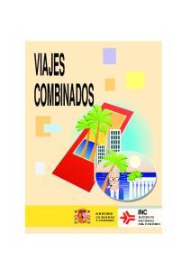 VIAJES COMBINADOS MINISTERIO DE SANIDAD Y CONSUMO INSTITUTO NACIONAL DEL CONSUMO