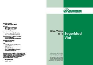 Vial. Libro Verde de la Seguridad
