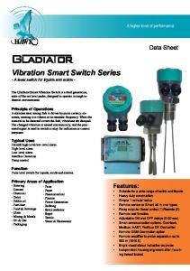 Vibration Smart Switch Series