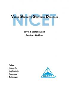 Video Security Systems Designer