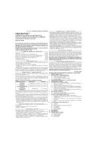 VIEKIRA PAK. (tabletas de ombitasvir, paritaprevir y ritonavir; tabletas de dasabuvir) embalado conjuntamente para uso oral Solo con receta
