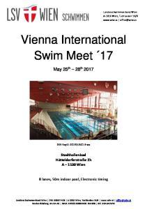 Vienna International Swim Meet 17