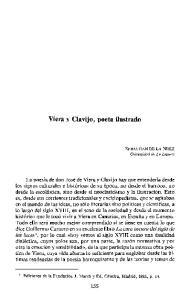 Viera y Clavijo, poeta ilustrado