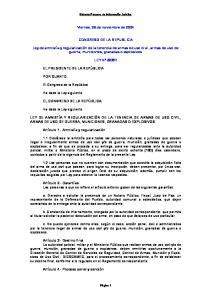 Viernes, 26 de noviembre de 2004 CONGRESO DE LA REPUBLICA