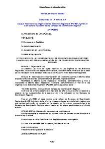 Viernes, 27 de junio de 2003 CONGRESO DE LA REPUBLICA