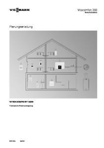 VIESMANN Vitocomfort 200 Home Automation
