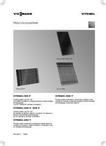 VIESMANN VITOSOL. Wytyczne projektowe VITOSOL 100-F VITOSOL 300-T VITOSOL 200-F, 300-F VITOSOL 200-T