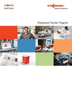 Viessmann Partner Program
