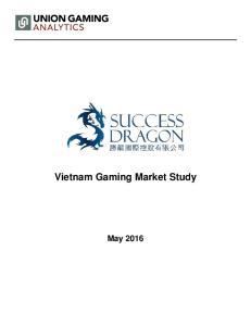 Vietnam Gaming Market Study