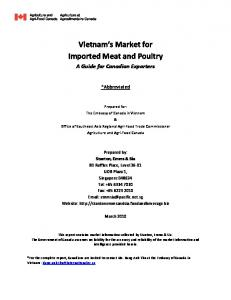Vietnam s Market for Imported Meat and Poultry