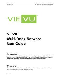 VIEVU Multi-Dock Network User Guide