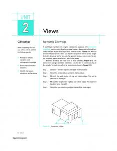 Views UNIT. Objectives. Isometric Drawings. Openmirrors.com