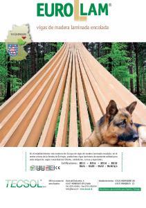 vigas de madera laminada encolada