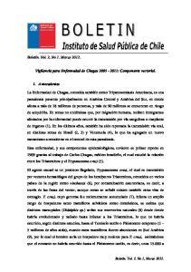 Vigilancia para Enfermedad de Chagas : Componente vectorial