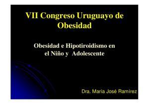 VII Congreso Uruguayo de Obesidad