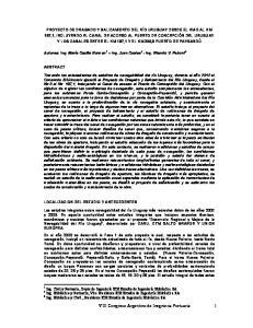 VIII Congreso Argentino de Inegnieria Portuaria 1