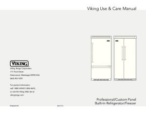 Viking Use & Care Manual