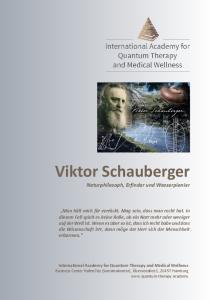 Viktor Schauberger. Naturphilosoph, Erfinder und Wasserpionier