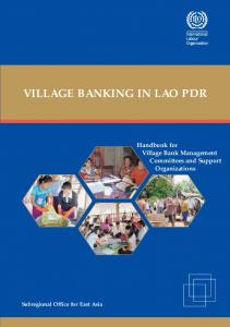 VILLAGE BANKING IN LAO PDR