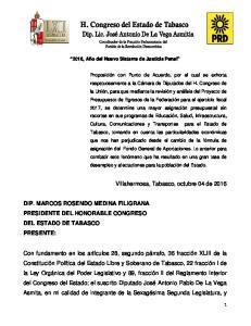 Villahermosa, Tabasco, octubre 04 de 2016