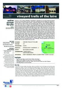 vineyard trails of the loire