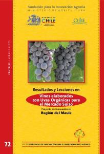 Vinos elaborados con Uvas Orgánicas para el Mercado Suizo