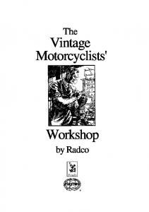 Vintage Motorcyclists'