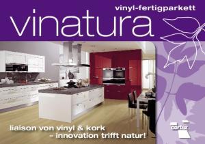 vinyl-fertigparkett liaison von vinyl & kork innovation trifft natur!