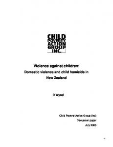 Violence against children: