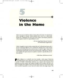 Violence in the Home. Miko Rose, child abuse survivor 2