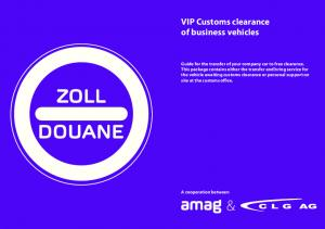 VIP Customs clearance of business vehicles