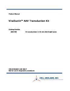 ViraDuctin AAV Transduction Kit