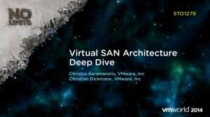 Virtual SAN Architecture Deep Dive